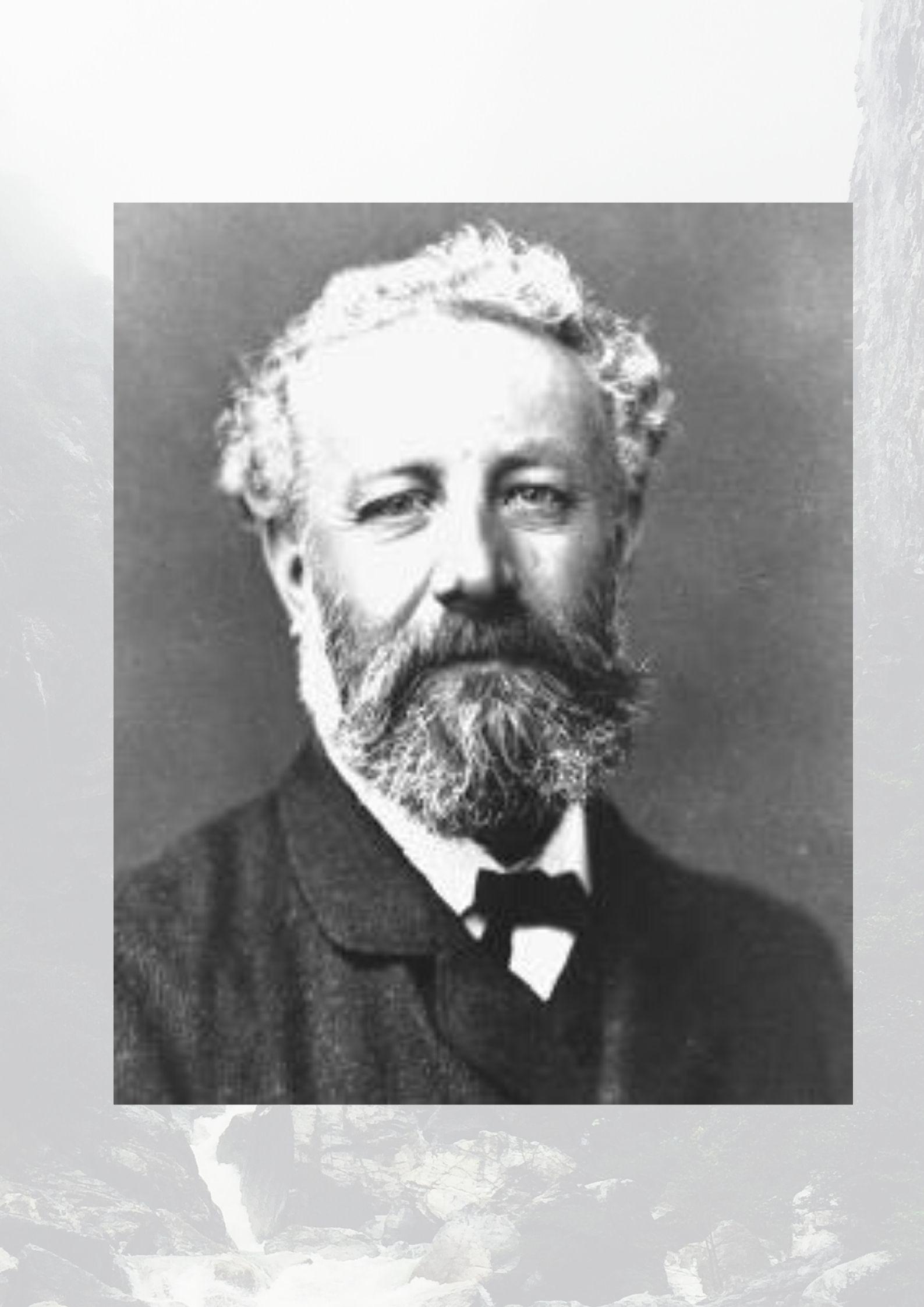 zdjęcie - portret Juliusza Verne'a