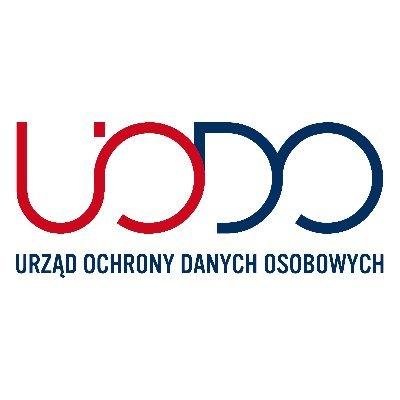 logo z napisem Urząd Ochrony Danych Osobowych