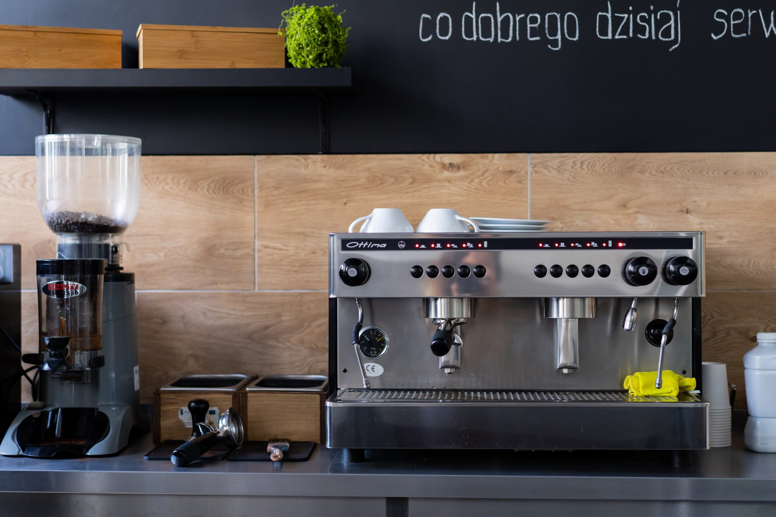 młynek i ekspres do kawy