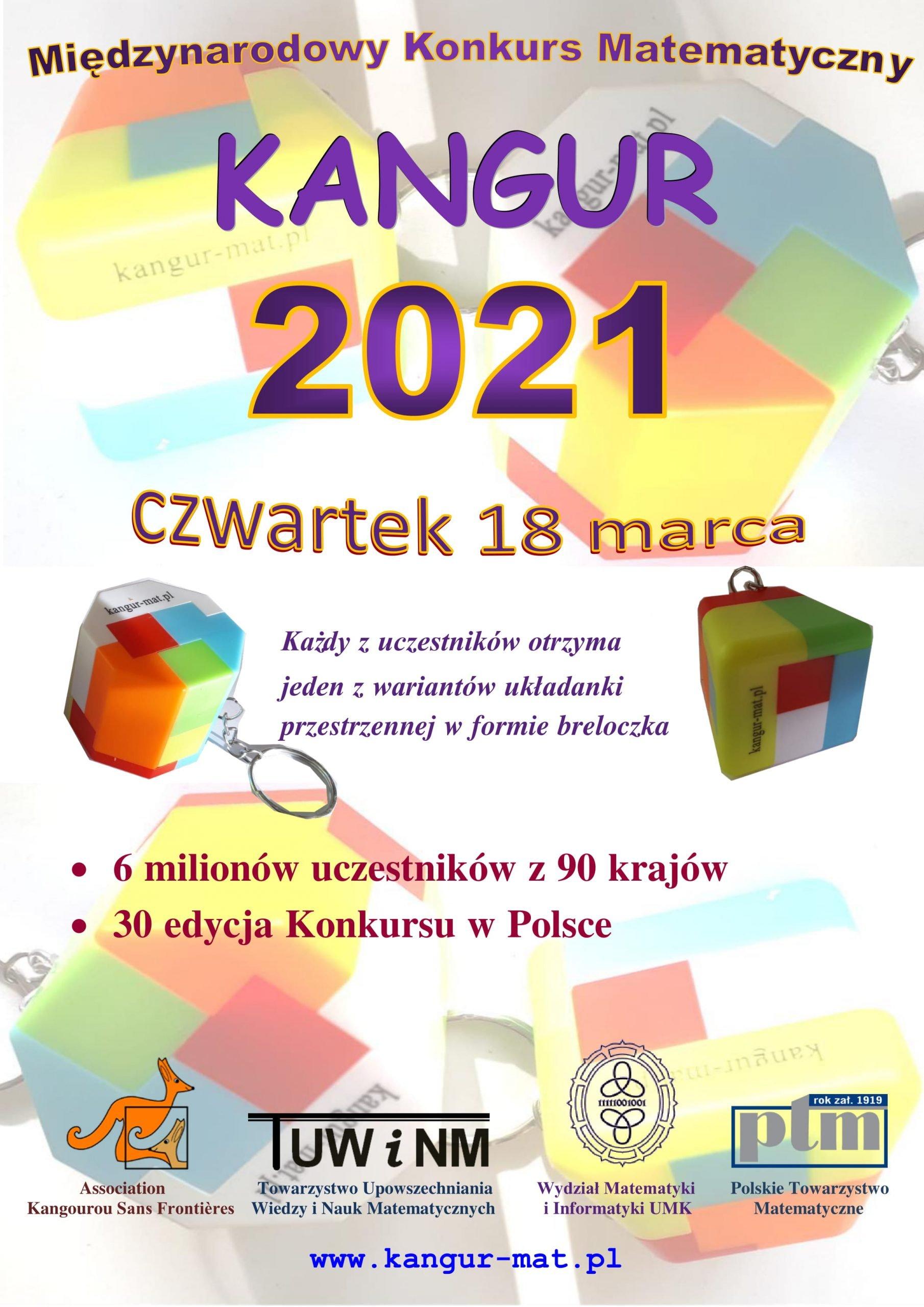 plakat kangur 2021