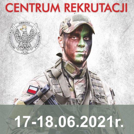 plakat informacyjny, żołnierz w mundurze z flagą polską